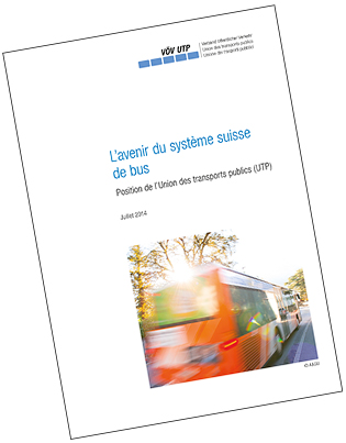 Photo Brochure système du bus